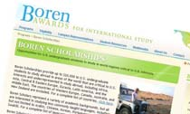 Boren Awards for International Study