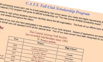 Central Arizona Tall Club Scholarship Program