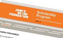 James Beard Foundation Scholarship Program