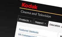 Kodak Cinema and Television Student Scholarship program