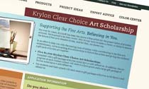 Krylon Clear Choice Art Scholarship