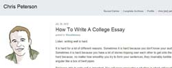 "excellent admission essays for college How important is the essay an excellent written essay could be a ""tipper"" factor for a college application essays are the one thing high school seniors."
