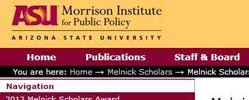 Morrison Institute for Public Policy