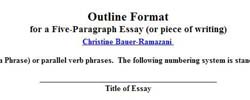 five paragraph essay subjects