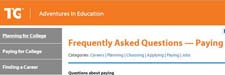 Adventures in Education Paying FAQ