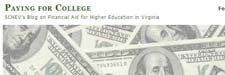SCHEV blog va financial aid paying for college