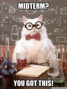 Midterms Science Cat Meme