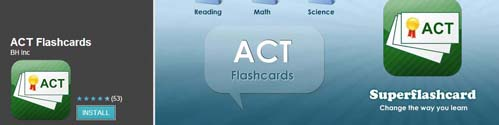 ACT Flash Cards