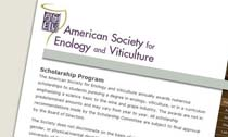 American Society for Enology and Viticulture