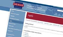 Benjamin A Gilman International Scholarship