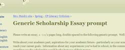 top tools for writing the best admissions or scholarship essay generic scholarship essay prompt