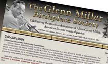 Glenn Miller Birthplace Society Scholarships