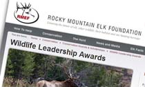 Rocky Mountain Elk Foundation Wildlife Leadership Awards