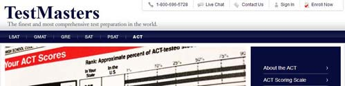 TestMasters ACT Course