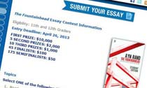 Fountainhead essay contest